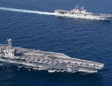 美航母擅闯南海,重磅武器现身水下,美紧急呼吁冷静