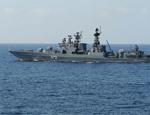 美舰窜东海挑衅,俄军向中方示范秘诀:不服就撞